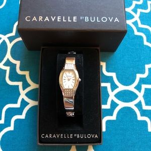 Caravelle by Bulova Silver Link Watch